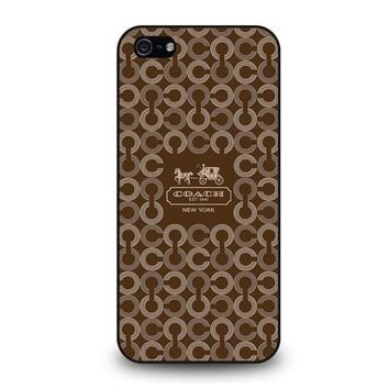 COACH NEW YORK 1941 iPhone 5 / 5S / SE Case Cover
