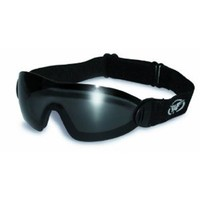 Global Vision Eyewear Flare Anti-Fog Goggles with Storage Pouch, Smoke Tint Lens