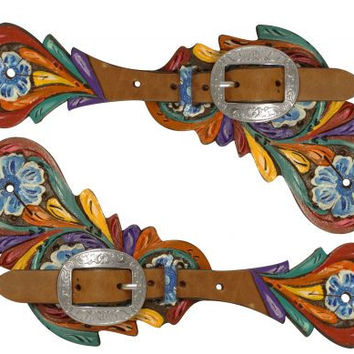 Handpainted Spur Strap