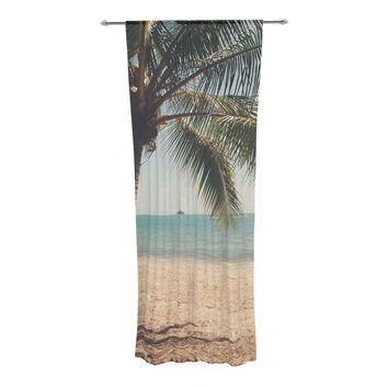 "Catherine McDonald ""Tropic of Capricorn"" Ocean Photography Decorative Sheer Curtain"