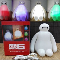 Color Changing Big Hero 6 Baymax USB LED Table Desk Lamp Light