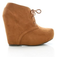 Uptown Booties | Wedge Booties at Pink Ice