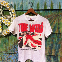 Vintage 1989 The Who Tour Shirt Kids Are by ElliottBayVintage