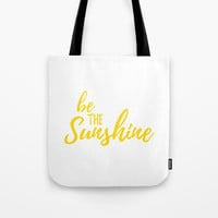 Positive Quotes For Girls, Reusable Tote Bag, Sunshine Birthday Gift For Her, Grocery Bag, Farmers Market Bag, Motivational Quotes On Canvas