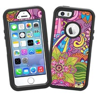 "Kaleidoscope ""Protective Decal Skin"" for OtterBox Defender iPhone 5s Case"