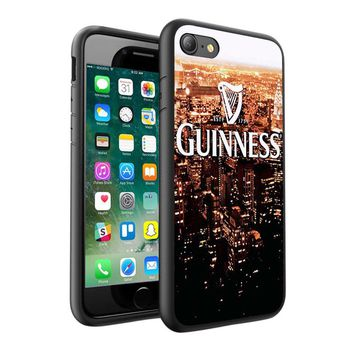 Guinness Beer Design Printed Hard Case Cover + Glass for Various Phones - 0002