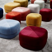 Circus Pouf Velour - Small (Various Colours) | Normann Copenhagen | Simon Legald