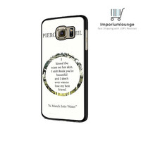 Pierce The Veil Song Lyrics For Samsung Galaxy S6| S6 Edge Case