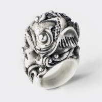 IMAGERY SKULL RING