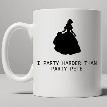 Party Pete Mug, Tea Mug, Coffee Mug