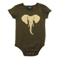 This unisex infant elephant bodysuit is so cute!- Polkadot Patch Boutique