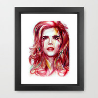 Paloma Faith Framed Art Print by beart24