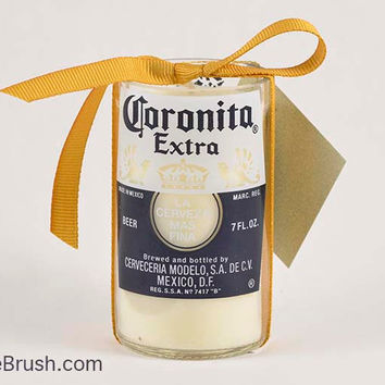 Coronita Extra Glass Bottle Candle US Shipping Included