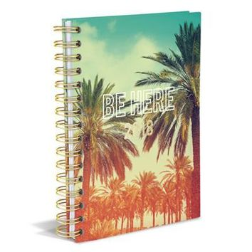 Be Here Tropical 2018 Planner in Hardcover