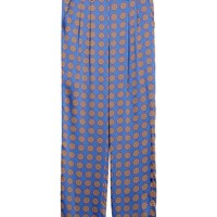 Thakoon Addition Foulard Print Casual Pants - Wide Leg Pants - ShopBAZAAR