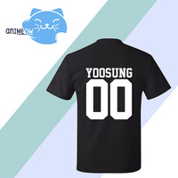 Yoosung Mystic Messenger Inspired Game Jersey Style T-Shirt