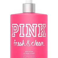 Victoria's Secret PINK Fresh & Clean Body Lotion 16.9 oz -500 ML