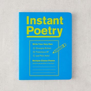 Instant Poetry By Knock Knock | Urban Outfitters