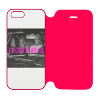 Paris Hilton, Lindsay Lohan and Britney Spears You Can't Sit With Us iPhone 5 | 5S Flip Case Cover