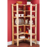 NEW Stockholm Storage Set Corner Shelves