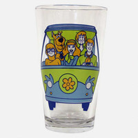 Scooby-Doo Mystery Machine Pint Glass | WBshop.com | Warner Bros.