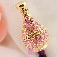 Charming 3.5mm Anti Dust Plug Cellphone Charm Earphone Dock for For iPhone,iPad,iPod Touch,HTC,Sams