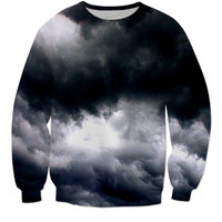 Cloud/Smoke Sweater