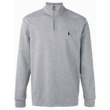 polo-ralph-lauren-half-zip-pullover-sweater-andover-grey-heather-xxl-2xl-walmart-com number 1