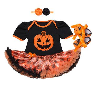 Baby Clothes Christmas costume for Baby Infant Party Dress Tutus Newborn Jumpsuit Bebe Romper Baby Girl Clothing Halloween Gift