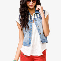 Blue Jeans Babe Denim Vest