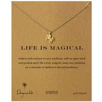 New Arrival Shiny Jewelry Gift Stylish Unicorn Korean Necklace [7992534209]
