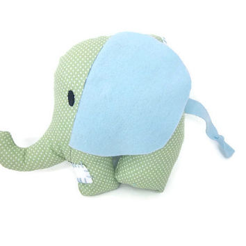 Patchy the Soft Elephant Plushie | elephant plush toy | baby elephant toy | circus elephant toy | elephant plush | jungle toy