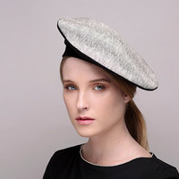 Beret hat / leather beret / french beret hat / free shipping