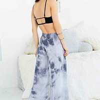 Moon & Sky Wide-Leg Pant- Grey