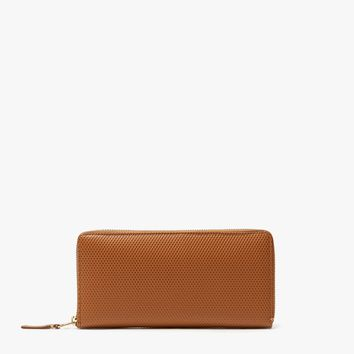 Comme des Garçons Wallet / Luxury Leather Line SA0110LG Wallet in Beige
