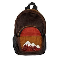 Patchwork Corduroy Mountain Backpack on Sale for $44.95 at The Hippie Shop