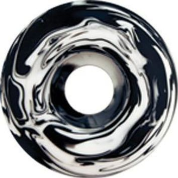 Essentials Black & White Swirl 54mm Skate Wheels