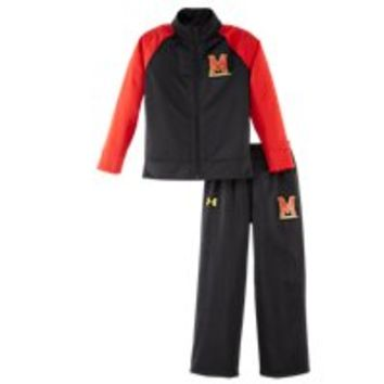 Under Armour Boys' Pre-School Maryland Track Set