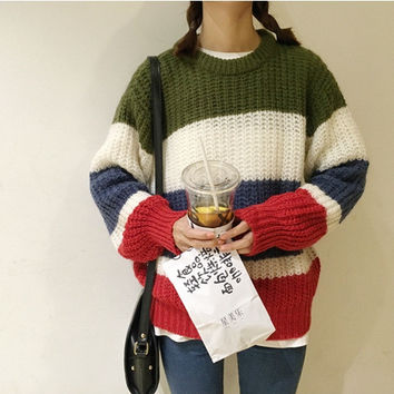 Round-neck Halloween Long Sleeve Sweater [9551819215]