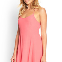 Cutout Back Slip Dress
