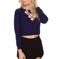 Whisper Sweater - Navy