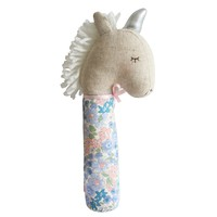 Yvette Unicorn Squeaker Liberty Blue by Alimrose