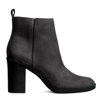 Ankle Boots with Zip - from H&M