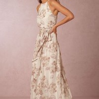 Alana  Wedding Guest  Wedding Guest Dress by Anthropologie x BHLDN in Dusty Pink Size: