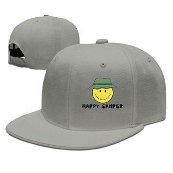Time To Get Mad Happy Camper Funny Unisex Adult Womens Baseball Hats Mens Baseball Hats