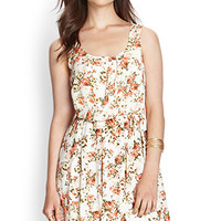 Relaxed Floral Dress