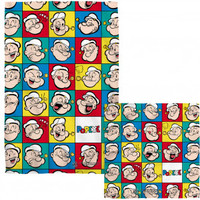 Popeye Many Moods COMBO Towel - Blankets, Sheets & Towels - Home Décor - Rockabilia