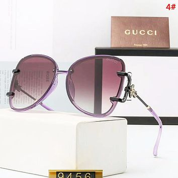 GUCCI Fashion New Polarized Leisure Glasses Eyeglasses Women 4#