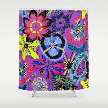 Anemones Shower Curtain by Azima