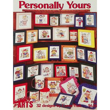 Personally Yours - Counted Cross Stitch Leaflet